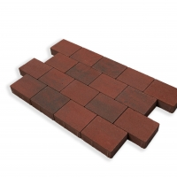 Red Brindle Cobblestone Paving