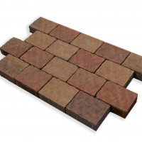 Harvest Gold Cobblestone Paving