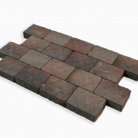 Burnt Rustic Cobblestone Paving